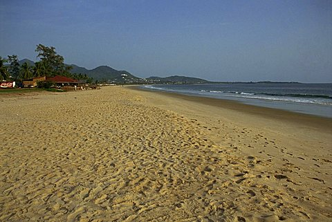 Beach, Freetown, Sierra Leone, West Africa, Africa