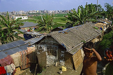 Slum, Dhaka, Bangladesh, Asia