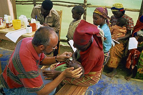 Clinic, aid projects, Africa - 640-697