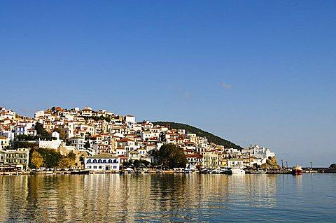 Skopelos Town, Skopelos, Sporades Islands, Greek Islands, Greece, Europe - 641-11456