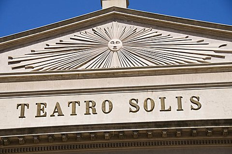 Teatro Solis, opera house, Montevideo, Uruguay, South America