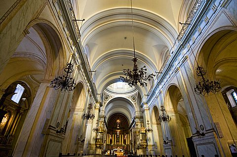 The Cathedral built in 1790, Montevideo, Uruguay, South America