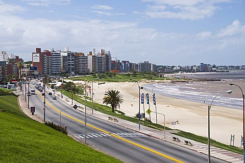 The Rambla, Montevideo, Uruguay, South America
