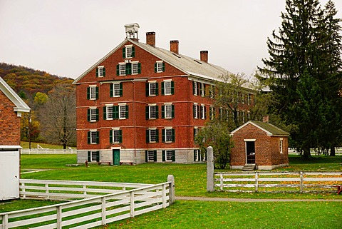 Hancock Shaker Village, Pittsfield, The Berkshires, Massachusetts, New England, United States of America, North America