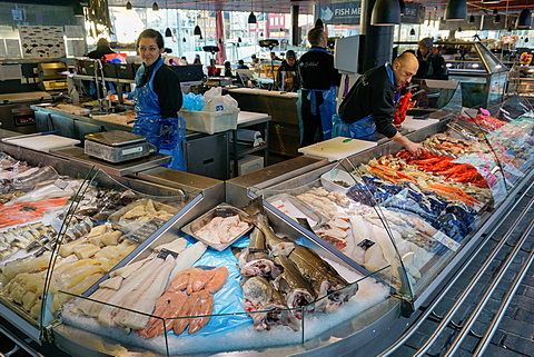 Fish Market, Bergen, Hordaland, Norway, Scandinavia, Europe