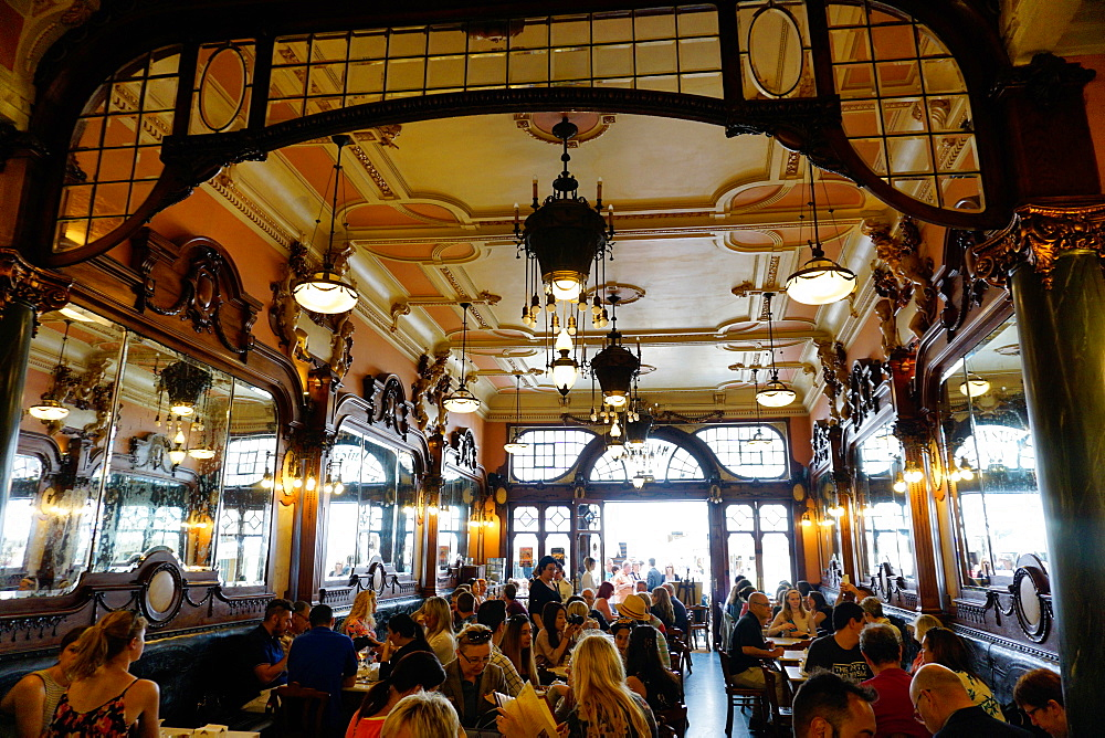 Majestic Cafe, Porto also know as Oporto, Portugal