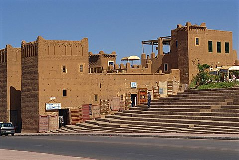 Handicraft centre near Taourit Kasbah, Ouarzazate, Morocco, North Africa, Africa