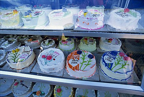 Cakes for special occasions, Munnar, in the Western Ghats, Kerala state, India, Asia