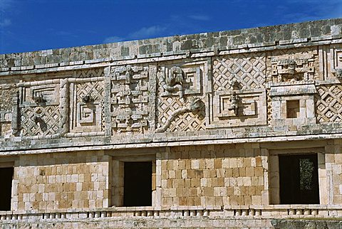 Nunnery Quadrangle, Uxmal, UNESCO World Heritage Site, Yucatan, Mexico, North America