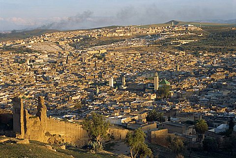 The Medina or old walled city, UNESCO World Heritage Site, Fez, Morocco, North Africa, Africa