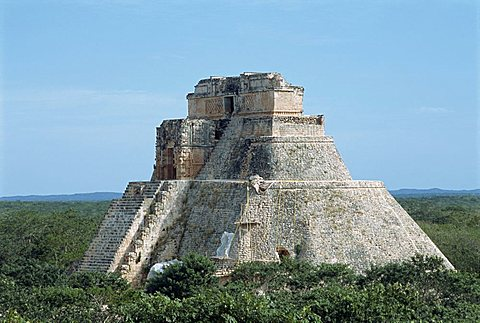 Uxmal, UNESCO World Heritage Site, Yucatan, Mexico, North America