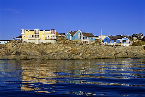 Town of Ilulissat, formerly Jacobshavn, west coast, Greenland, Polar Regions