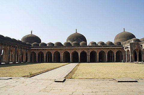 The Jama Mashid (Friday Mosque), Mandu, Madhya Pradesh state, India, Asia