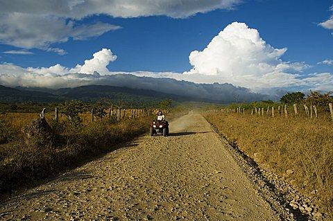 Clouds over the Rincon Volcano, near Rincon de la Vieja National Park, Guanacaste, Costa Rica, Central America