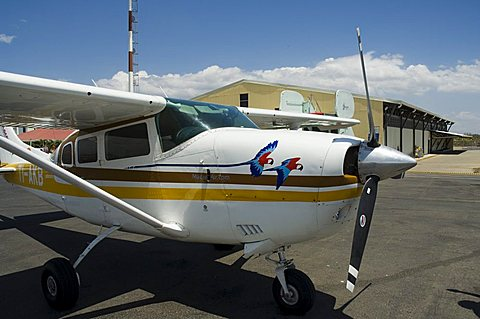 Light aircraft charter service for small airstrips on west coast, Liberia Airport, Costa Rica, Central America