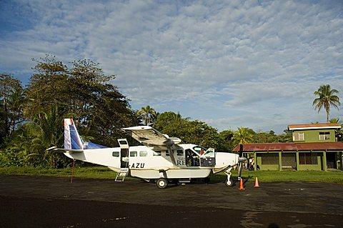 Tortuguero Airport, Tortuguero National Park, Costa Rica, Central America