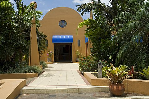 The Xandari Hotel, a very stylish boutique hotel on the outskirts of San Jose, Costa Rica, Central America