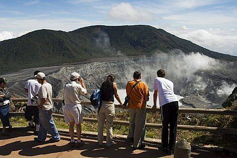 Poas Volcano, Poas National Park, Costa Rica, Central America