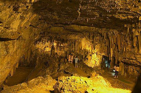 Drogarati Cave, near Sami, Kefalonia (Cephalonia), Ionian Islands, Greece, Europe