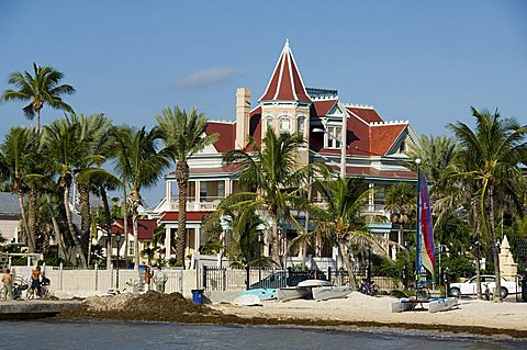 Southernmost House (Mansion) Hotel and Museum, Key West, Florida, United States of America, North America