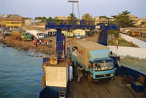 Banjul to Bari ferry, Banjul, Gambia, West Africa, Africa