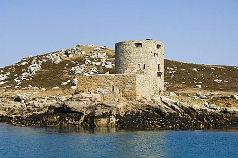 King Charles Castle, Tresco, Isles of Scilly, off Cornwall, United Kingdom, Europe