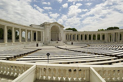 The Memorial Amphitheatre, Arlington National Cemetery, Arlington, Virginia, United States of America, North America