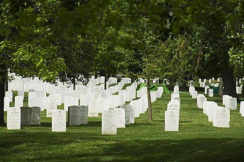 Arlington National Cemetery, Arlington, Virginia, United States of America, North America