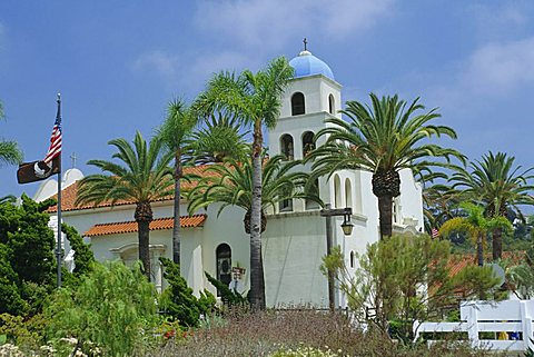 Church of the Immaculate Conception, Old Town State Historic Park, San Diego, California, USA