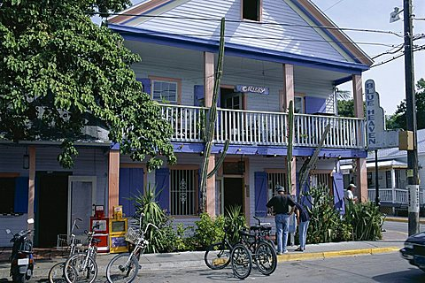 Old Town, Bahama Village, Key West, Florida, United States of America (U.S.A.), North America