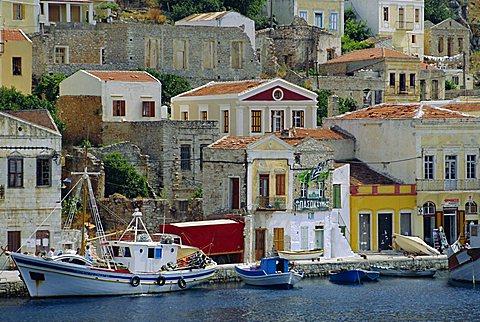 Yialos, Symi, Greece - 645-2218