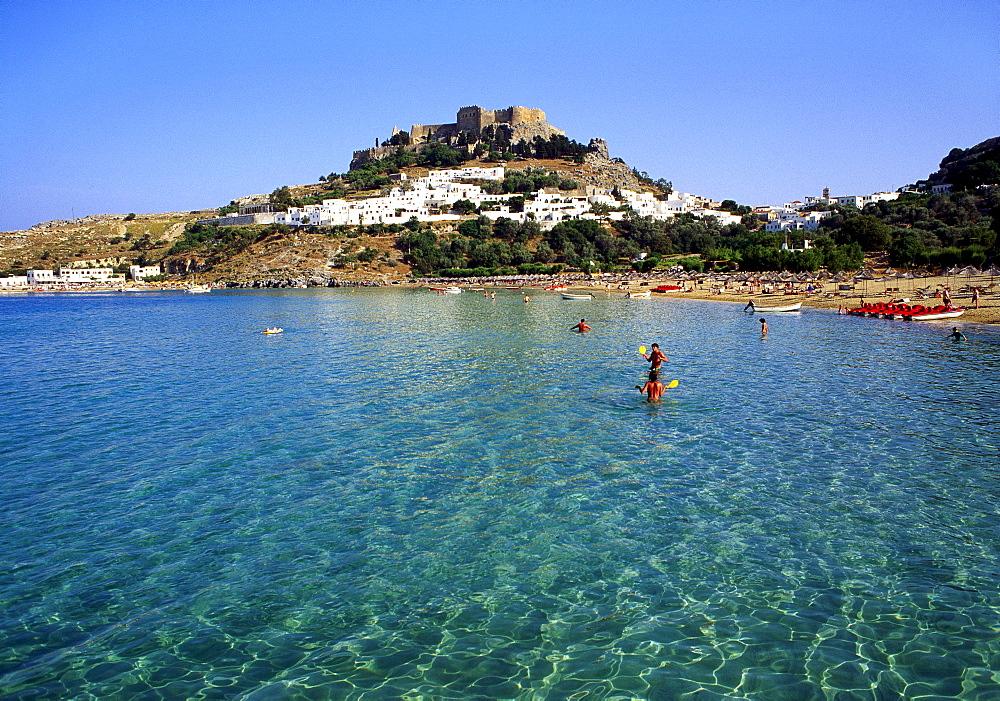Lindos, Rhodes, Greece, Europe - 645-2228