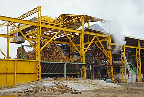 Sugar cane crusher, Martinique, Caribbean