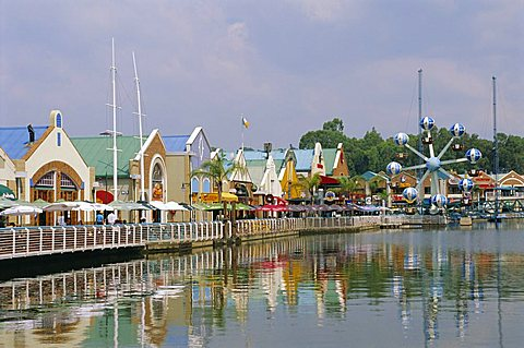 Randburg Waterfront, shops and restaurants, Johannesburg, South Africa