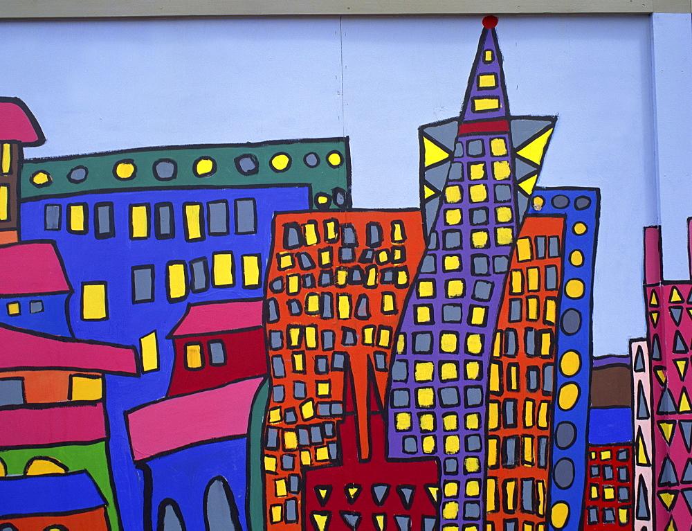 Murals, San Francisco, California, United States of America, North America - 657-246