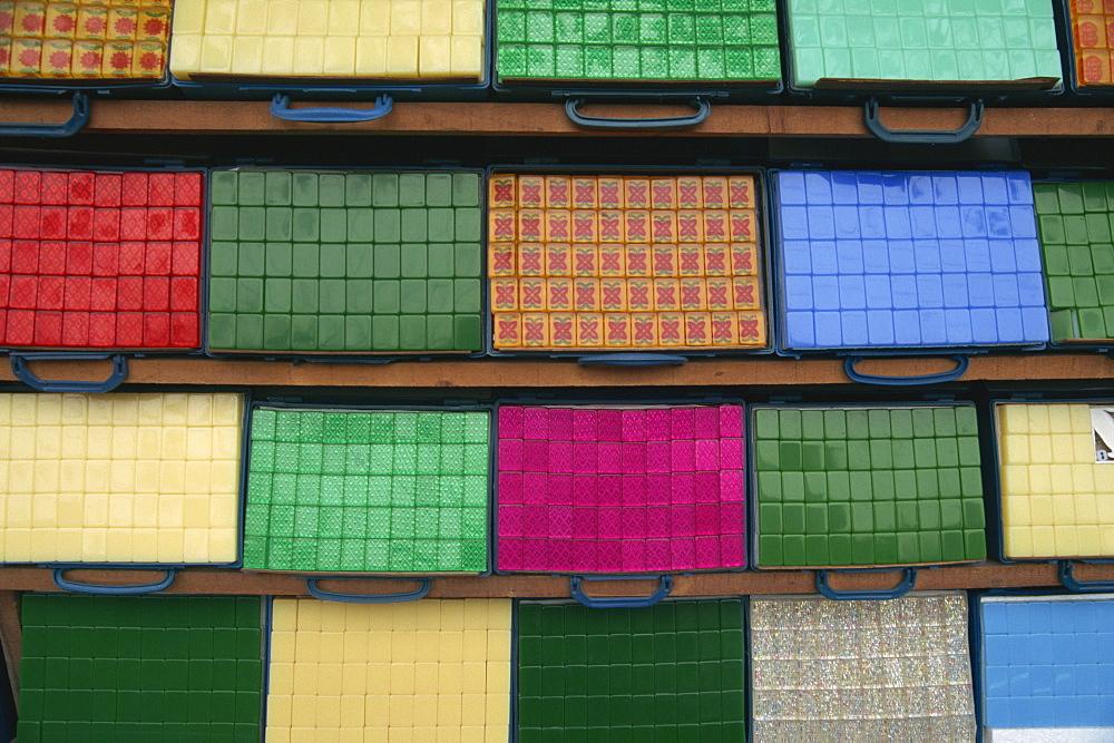 Mahjong tiles, Yunnan, China, Asia - 657-491