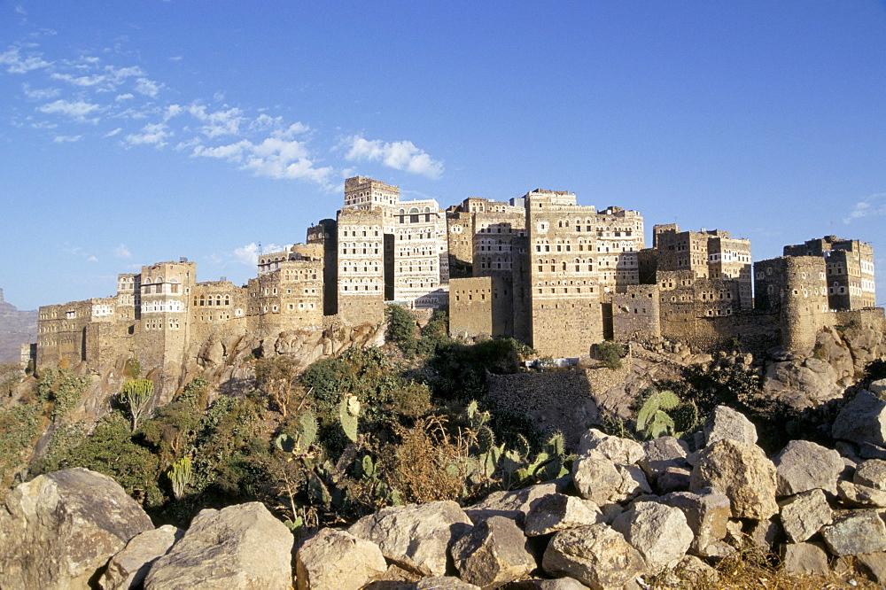 Village of Manakhah, Yemen, Middle East