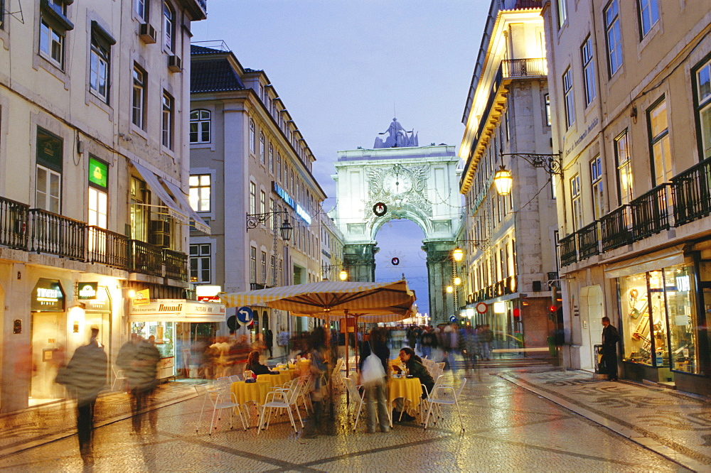 Rua Augusta, Lisbon, Portugal, Europe
