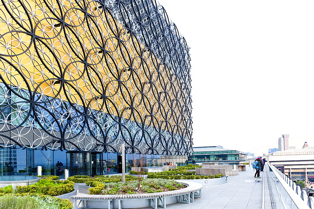 View of The Library of Birmingham, England, United Kingdom, Europe - 663-815