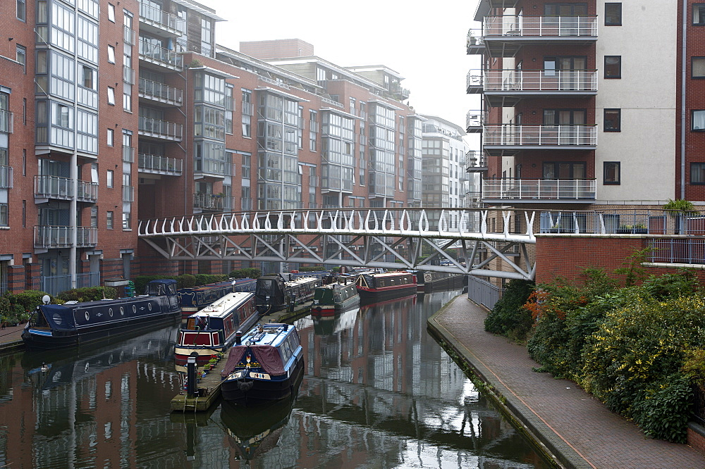 Birmingham Canal Navigations (BCN), Birmingham, West Midlands, England, United Kingdom, Europe