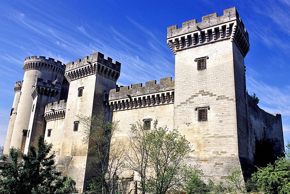 King Rene's castle, Tarascon, Provence, France, Europe