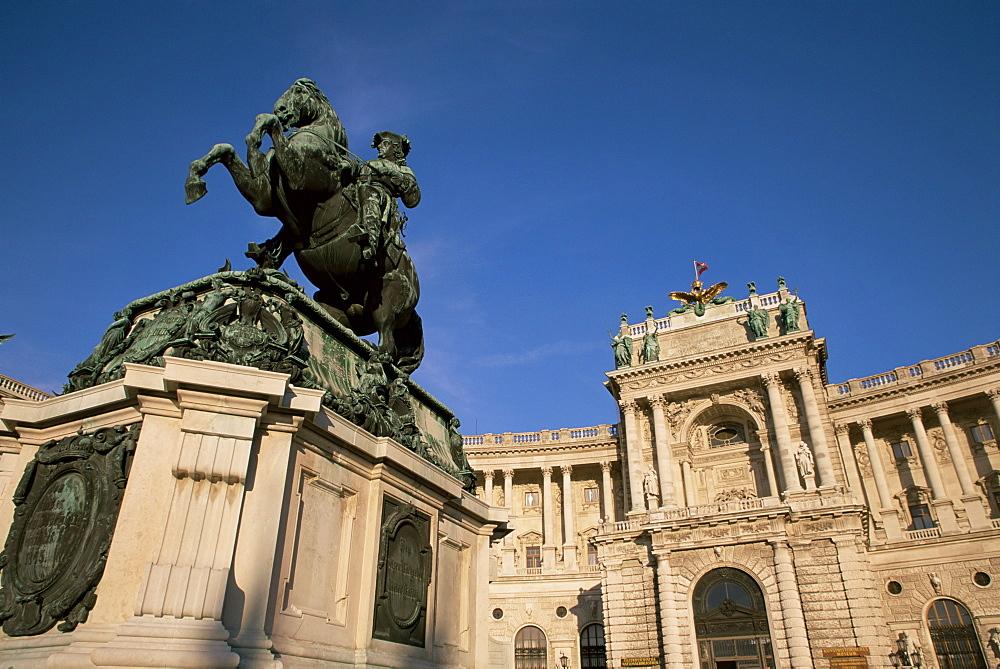 Memorial to Prince Eugene, Hofburg, Vienna, Austria, Europe