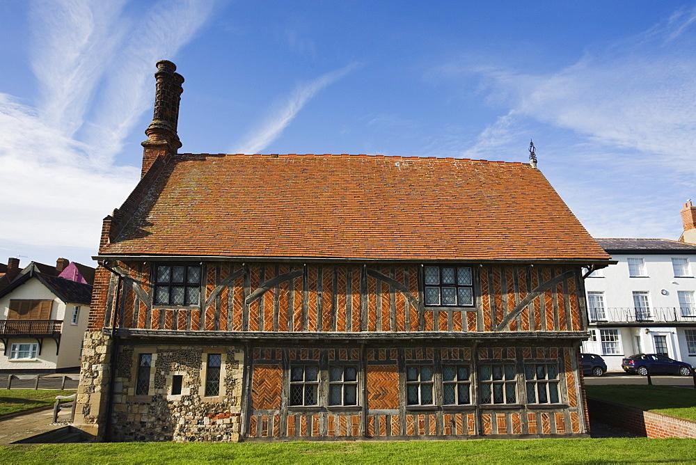 Moot Hall, Aldeburgh, Suffolk, England, United Kingdom, Europe