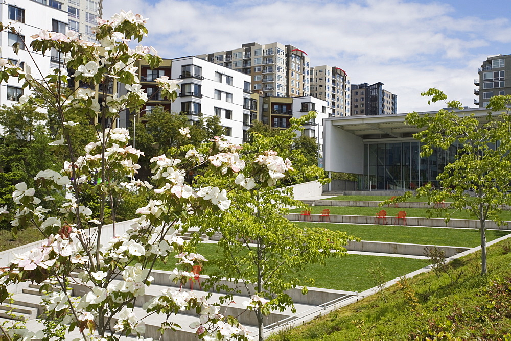 PACCAR Pavilion, Olympic Sculpture Park, Seattle, Washington State, United States of America, North America