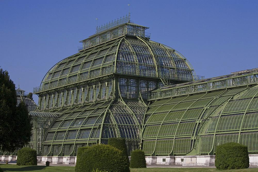 Palm House, Schonbrunn Palace Gardens, UNESCO World Heritage Site, Vienna, Austria, Europe