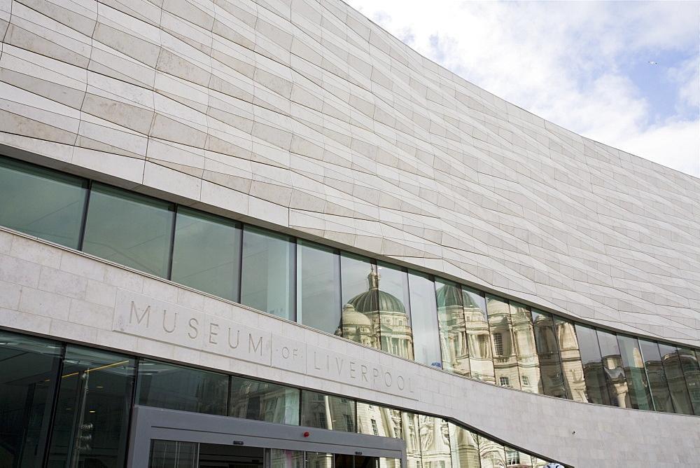 Museum of Liverpool, Pier Head, Liverpool, Merseyside, England, United Kingdom, Europe