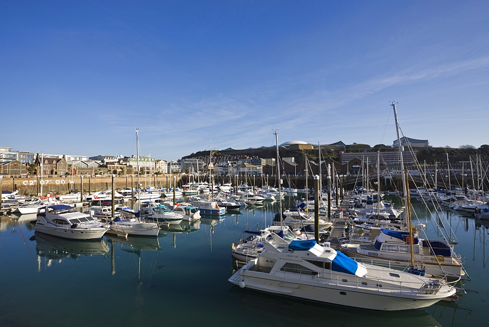 Albert Harbour, St. Helier, Jersey, Channel Islands, United Kingdom, Europe