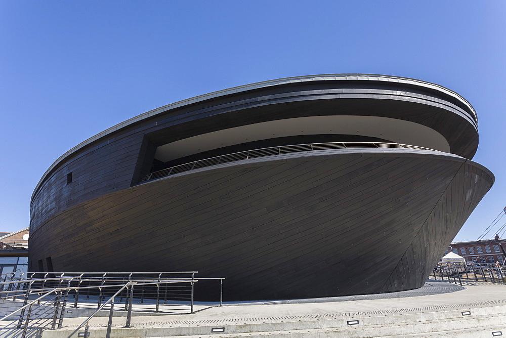 The New Mary Rose Museum, HM Naval Base, Portsmouth Historic Dockyard, Portsmouth, Hampshire, England, United Kingdom, Europe - 667-2534