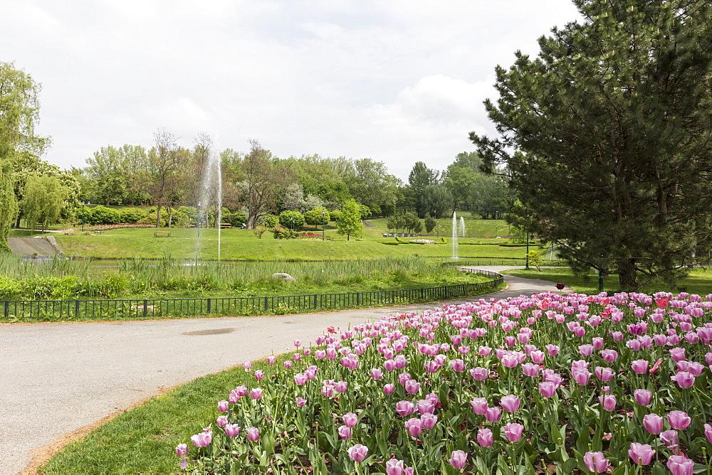 Kurpark Oberlaa, Vienna, Austria, Europe