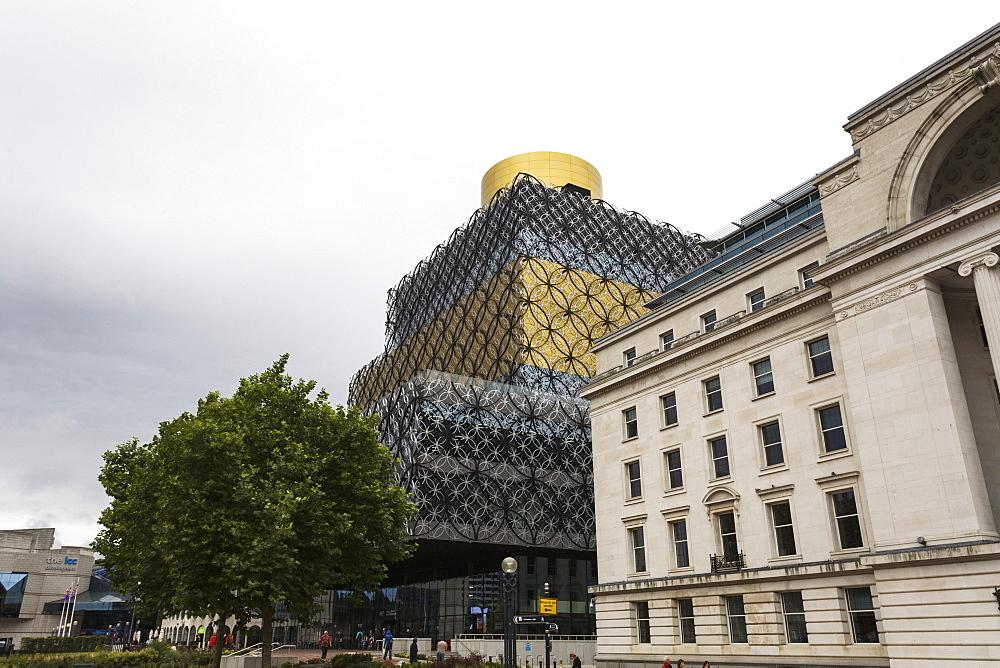 Library of Birmingham, Centenary Square, Birmingham, West Midlands, England, United Kingdom, Europe